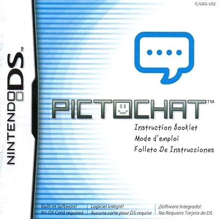 Amazon.com : Pictochat DS Instruction Booklet (Nintendo DS ...