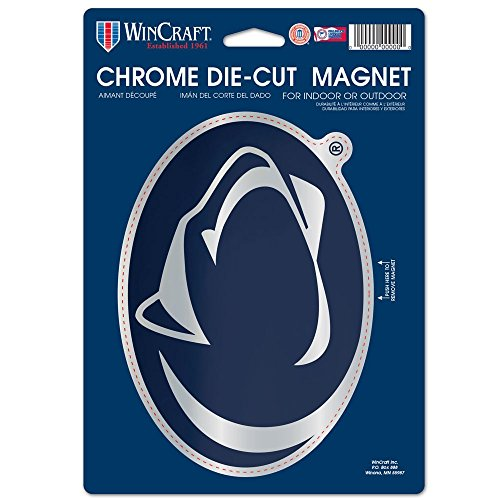 tate University Chrome Magnet, 6.25 x 9, Black ()