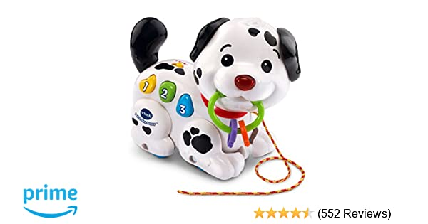 Amazoncom Vtech Pull And Sing Puppy Toys Games