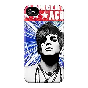 Shock-Absorbing Hard Cell-phone Cases For Iphone 4/4s With Customized HD Papa Roach Skin IanJoeyPatricia