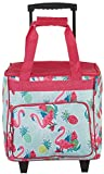 Tropix Flamingo Pineapple Rolling Cooler One Size Pink/Blue/Green