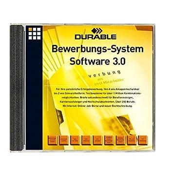 durable 259502 bewerbungssoftware system cd fr ber 200 berufe - Bewerbung Software