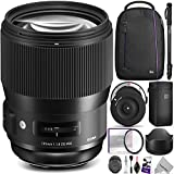 Sigma 135mm f/1.8 DG HSM Art Lens for CANON EF Cameras w/Sigma USB Dock & Advanced Photo and Travel Bundle