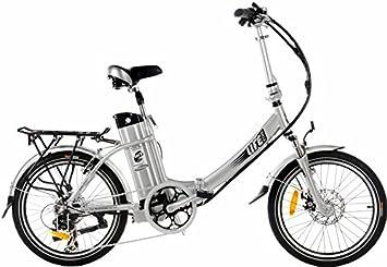 Bicicleta eléctrica plegable ciclo Traveller