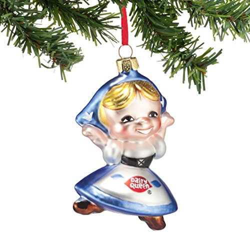 Department 56 Dairy Queen Little Dutch Girl Hanging Ornament