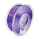 ZIRO 3D Printer Filament High Strength PLA 1.75mm Polymer Composites 3D Filament 1KG(2.2lbs), Dimensional Accuracy +/- 0.05mm, Purple
