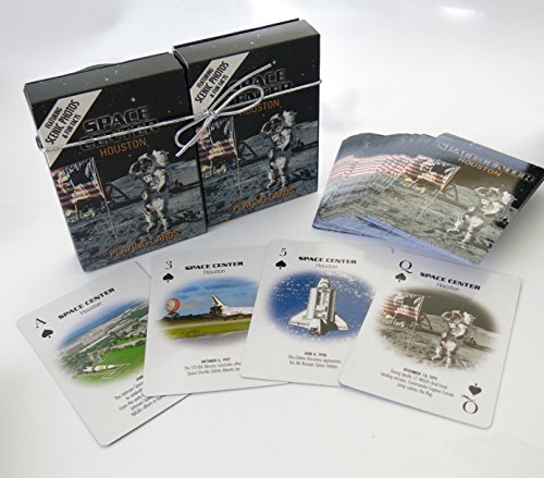 Houston Space center, Playing Cards, Double Decker, Souvenirs