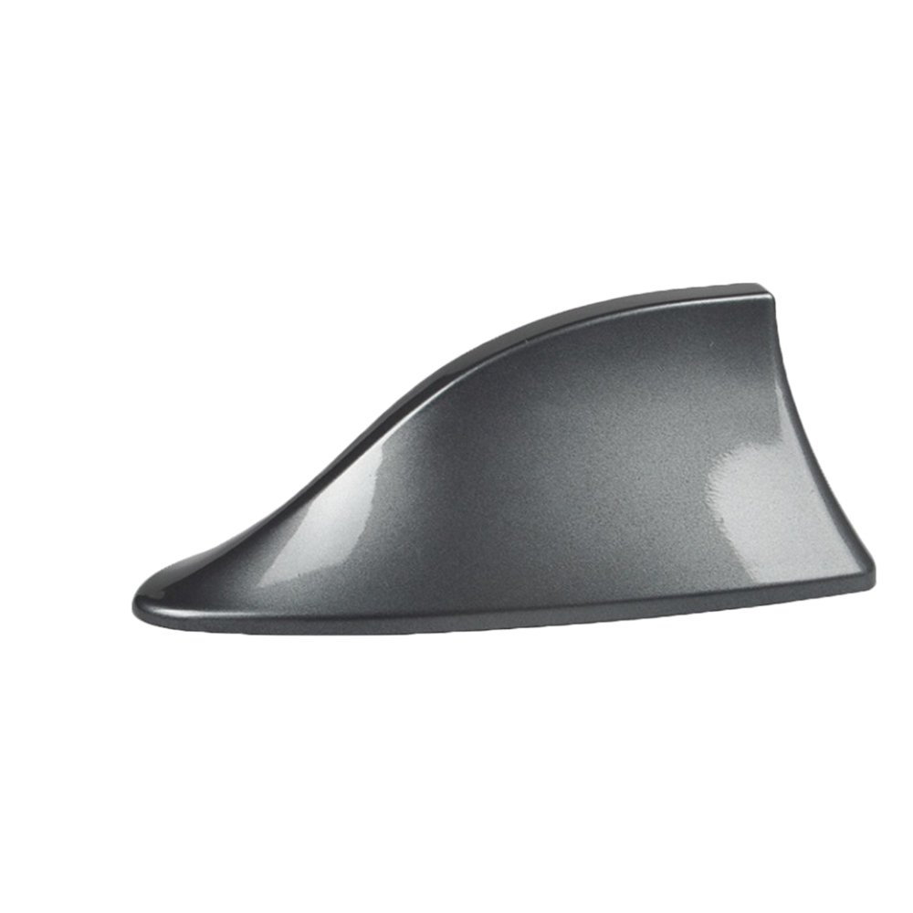 MeiBoAll Black Car Shark Fin Antenna Radio Antenna with The Signal fit for Most Cars Benz BMW Chevrolet Lexus Toyota and So On