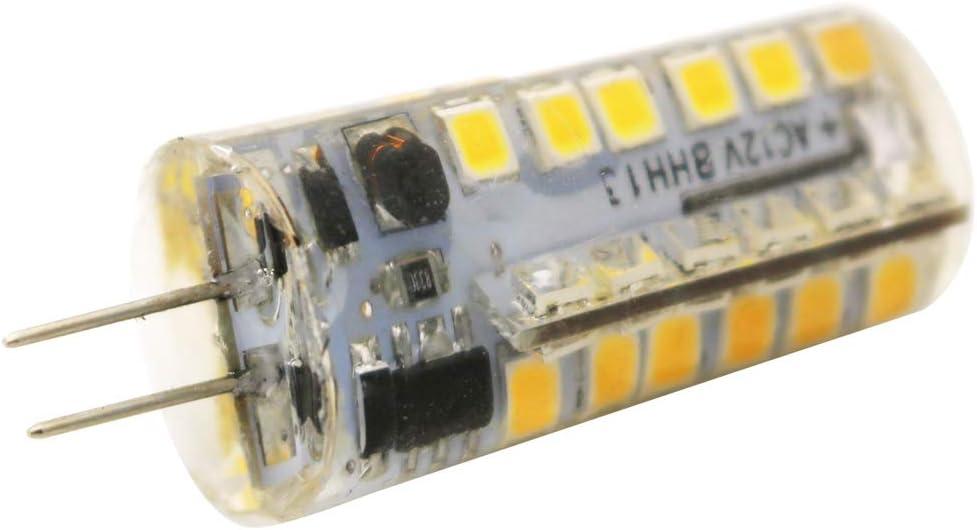 ShenShuai - Juego de 15 bombillas LED G4 de 4 W, 320 lúmenes, sin parpadeo ni bombilla LED, equivalente a 40 W, G4, ángulo de haz de 360°, no regulable Blanco Cálido (3000 K)
