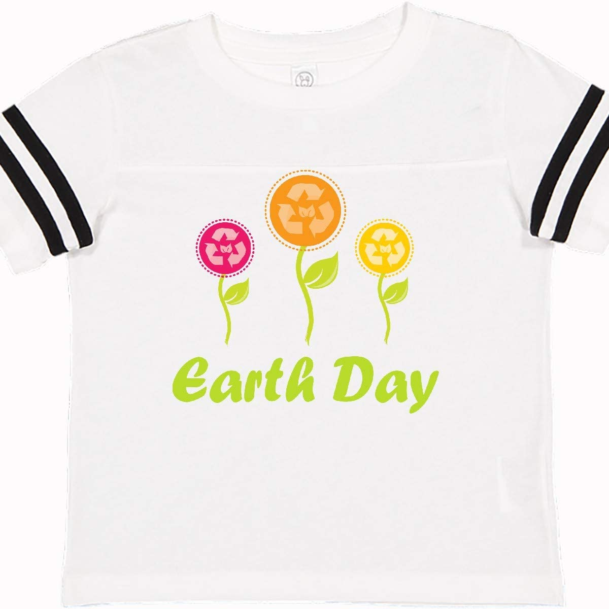 inktastic Earth Day Recycle Flowers Toddler T-Shirt