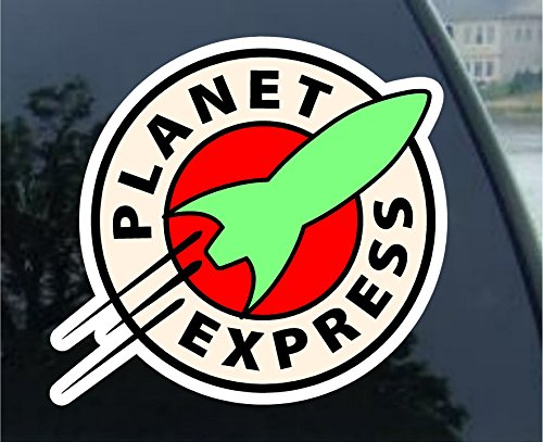 Futurama - Planet Express - car sticker decal (2.5