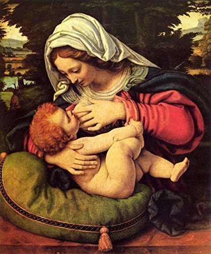 Image result for mary and jesus in renaissance painting