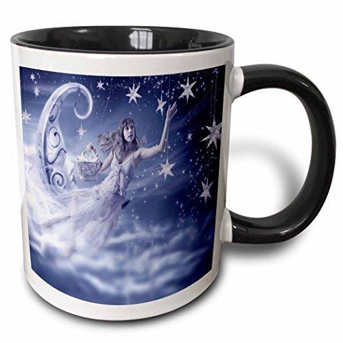 3dRose mug 110887 4 Insomnia Black White