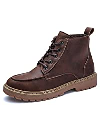 Men's Chukka Boots Working Shoes Bootie Lace Up Military Combat Boot