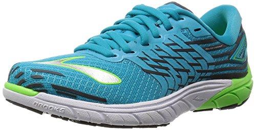 Brooks PureCadence 5, Damen Laufschuhe Blau (ScubaBlue/GreenGecko/Anthracit)