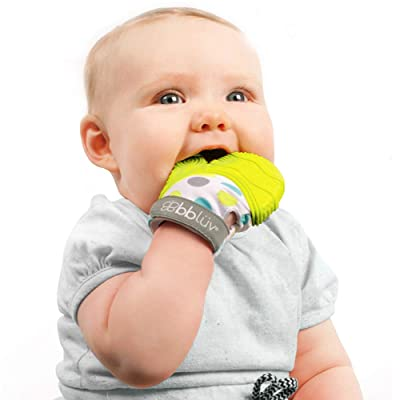 Gluv - Teething Mitten (Lime) : Baby