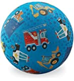 "Playground Ball - 7"" Rubber Sports Ball - PVC, BPA, and Vinyl-Free"