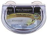 yankees dishes - Droll Yankees Bird Feeder, Window Bird Feeder Dish with Suction Cups, Tweet Spot TS-W, 1/2 Cup Capacity, Light Blue