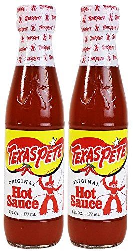 - Texas Pete Original Hot Sauce 6 oz. (Pack of 2)