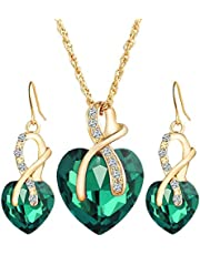 Accessories Set Jewelry Gift Necklace & Earrings Set