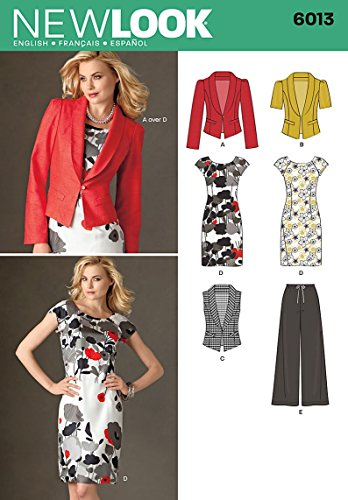 (New Look Sewing Pattern 6013 Misses' Separates, Size A (4-6-8-10-12-14-16))