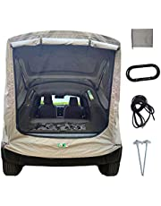 Truck Tent Car Truck Tent Rainproof Sun Protection Portable for SUVs Camping Truck Tent