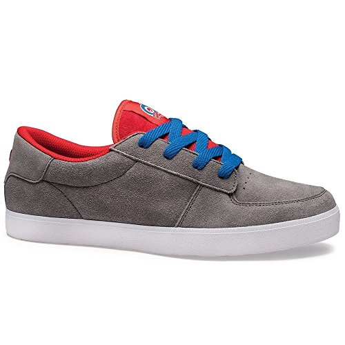 Osiris Duffel - Zapatillas de skateboarding Hombre Gris - Grey/Red/Blue