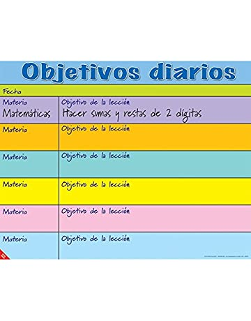 Really Good Stuff Objetivos Diarios (Daily Objectives Poster)