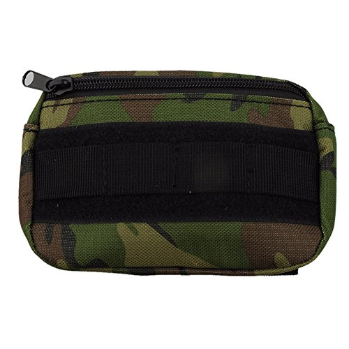 Tactical Pouch,Bienna Small Military Bag Molle Gear [Waterproof] Nylon EDC Utility Gadget Zipper Buckle Waist Pack Wallet Holster Pocket Cover Case for Vest & Phones 4