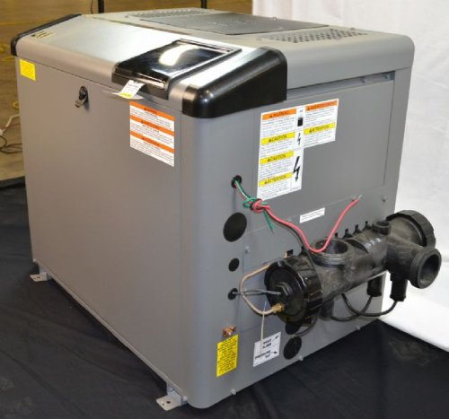 Zodiac Jandy LXi LXI400NN 400K BTU Natural Gas Polymer Header Pool and Spa Heater with Cupro-Nickel Tubes Exchanger