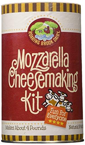 Goat Milk Mozzarella (Roaring Brook Dairy Mozzarella Cheesemaking Kit)
