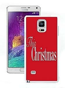 Galaxy note 4 case, Samsung Galaxy note 4 cases,Merry Christmas Samsung Galaxy note 4 Case White Cover WANGJING JINDA