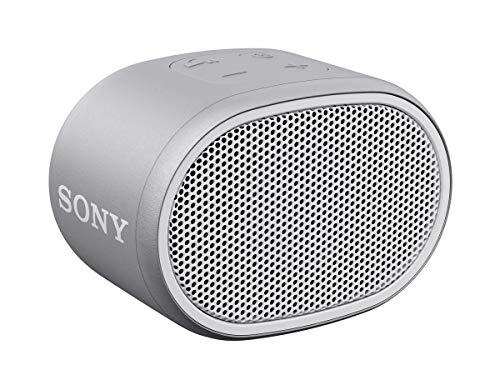 Sony XB01 Bluetooth Compact Portable Speaker Gray (SRSXB01/W)