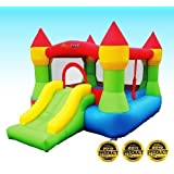 Bounceland Castle W/Hoop Inflatable Bounce House Bouncer