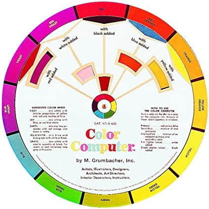 Grumbacher B420 Large Color Wheel