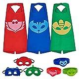 #10: PJ Masks Costumes For Kids Catboy Owlette Gekko Mask Cape Bracelet
