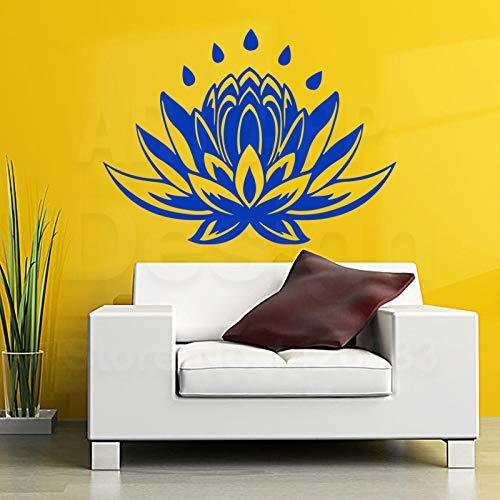 Decoración para el hogar Vinilo Tatuajes de Pared Yoga Lotus ...