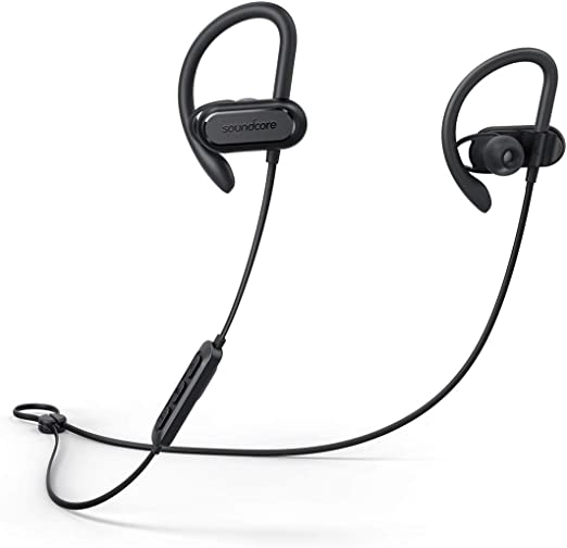 Amazon Com Wireless Bluetooth Headphones Soundcore Spirit X Sports Earphones By Anker Bluetooth 5 0 12 Hour Battery Ipx7 Wireless Earbuds Noise Isolation Sweatguard Technology For Workout Black Electronics