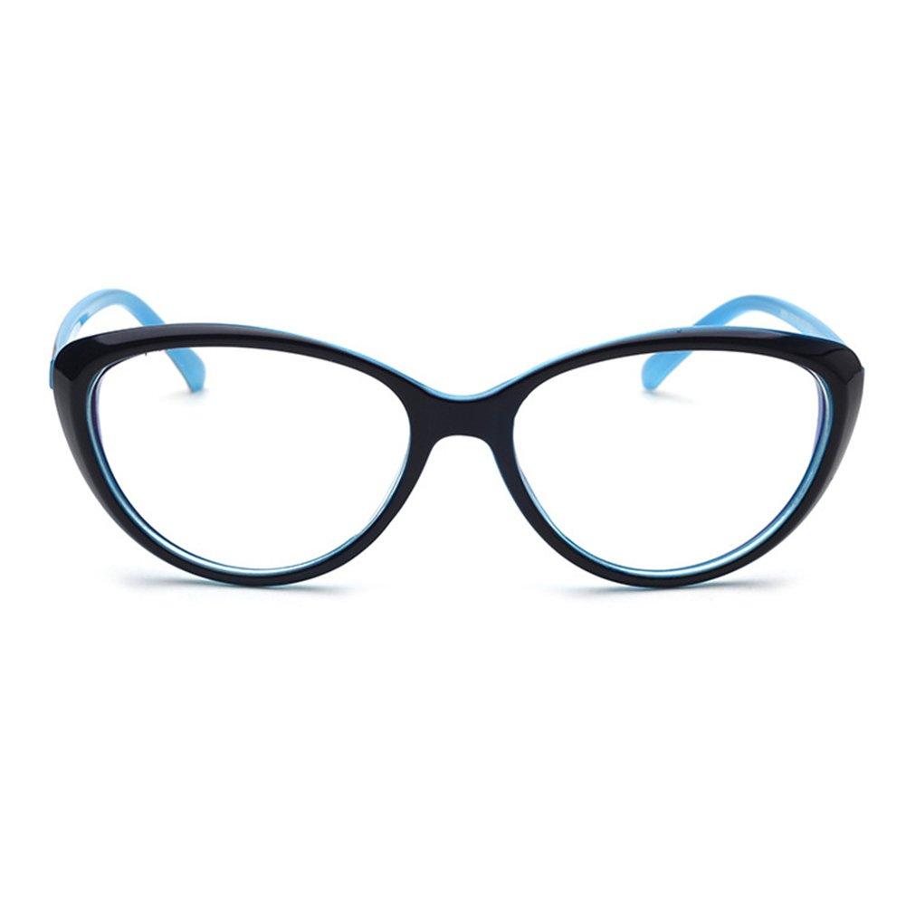 Juleya Occhiali da Occhi di gatto per uomo Donna Moda Occhiali da vista Montatura per occhiali 1229YJJ03