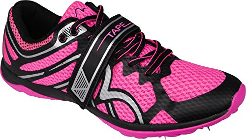 More Mile B-Grade Mud Warrior 1 Cross Country Running Spikes (with Tape) - Pink dDcL1Ah1