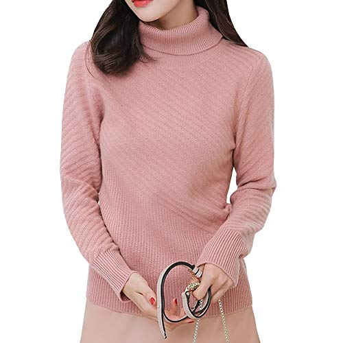 Lunga Maglione Rosa Donna Manica Dissa X8w6UqB8