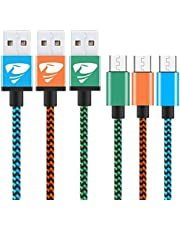 Charger cable nylon braided 3colors
