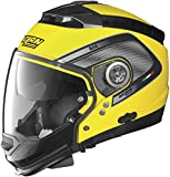 Nolan N-44 N-Com Tech Helmet, Distinct Name: Cab Yellow/Black, Gender: Mens/Unisex, Helmet Category: Street, Helmet Type: Modular Helmets, Primary Color: Yellow, Size: 2XS N445277920239