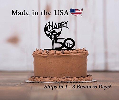 Golf Cake Topper with Free Keepsake base, Any