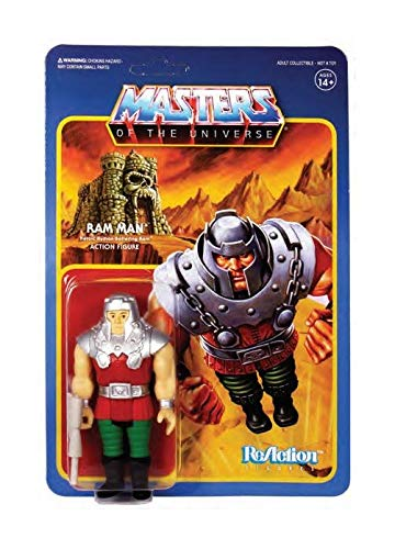 (Super7 MOTU 3 3/4-inch Ram Man ReAction Figure)