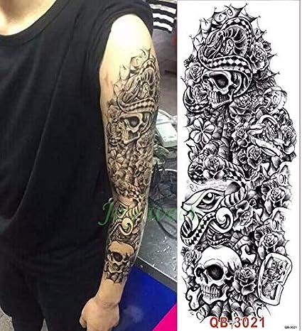 3pcs Impermeable de la Etiqueta engomada del Tatuaje del dragón ...