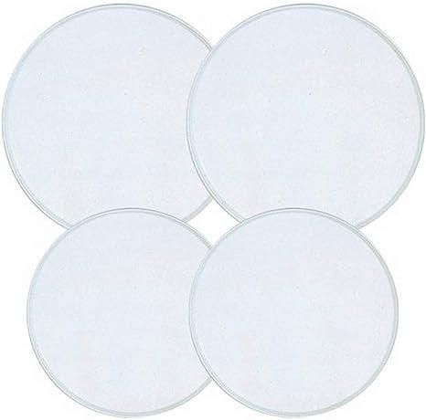 Set of 4 White Reston Lloyd Electric Stove Burner Covers