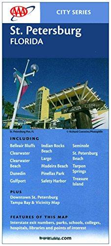 St. Petersburg, Florida (Map) : Including Belleair Bluffs, Clearwater, Clearwater Beach, Dunedin, Gulfport, Indian Rocks Beach, Largo, Madeira Beach, Pinellas Park, Safety Harbor, Seminole, St. Petersburg Beach, Tarpon Springs, Treasure - Shopping Dunedin