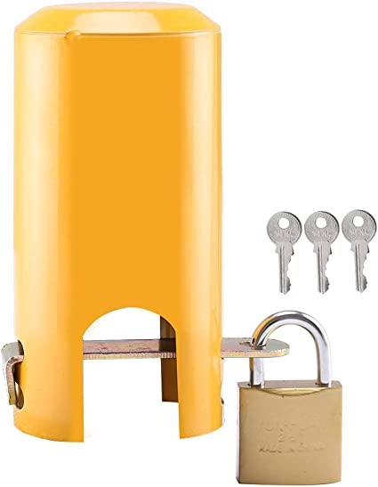 DANGONG BROTHERS Lock Faucet Tap Protective Cover Outdoors Garden Anti Theft 1, Does Not Apply