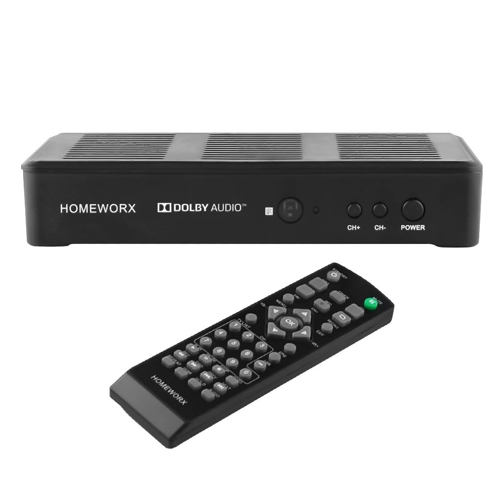 Mediasonic HomeWorx ATSC Digital Converter Box + HDMI Cable with TV Tuner and TV Recording Function (HW180C) by Mediasonic (Image #4)